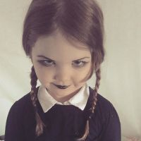 Wednesday Addams by Kisabelm