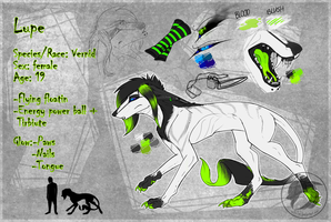 Lupe OC sheet by Wolf-Lisa