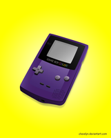 Gameboy Color by Chevelyn