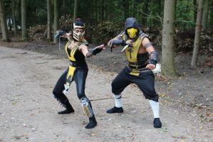 Team Scorpion - Brother and sister by InuNekoCosplay