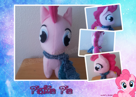 Pinkie Pie Plush by LilyWinterharp