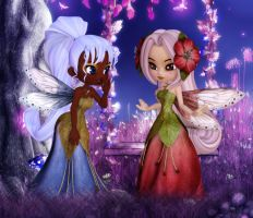 Fairy Chatter by patslash