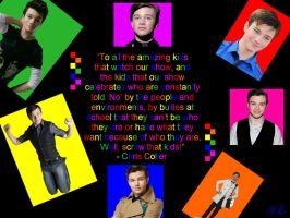 Chris Colfer by SnapeLover415
