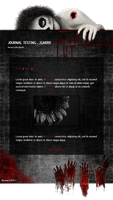 Murderer Journal Skin by Nesmaty