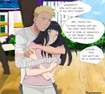 clingy Naruto by psyclopathe