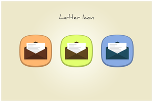 96 Letter Icon (freebie by pixelcave) by pixelcave