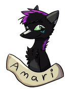 Amari Badge -Contest Prize- by AgentRainy