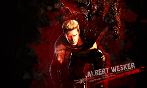 Albert Wesker wallpaper by VickyxRedfield