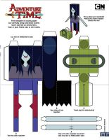 Cubeecraft marceline by staphanysan