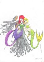 Mermaids from a Dream by nightspirit174