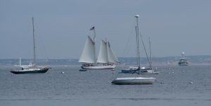 Provincetown Schooner Races 1 by TheMightyQuinn