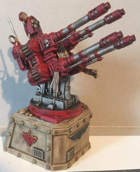 40k Deathwing Quad-Gun by Petrifications