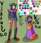 Redesigned Viktus and Vilo by GhosTyce