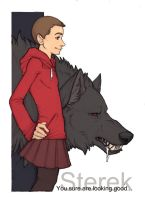 Hey there, Little Red Riding Hood... by WormsandBones