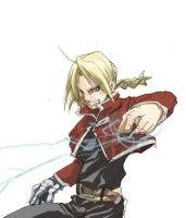 Edward Elric by CBummers