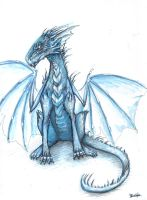 Blue Dragon by BlueSzpon
