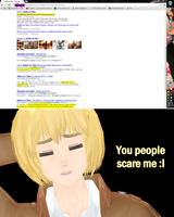 Armin discovers the internet. by jazmia2000