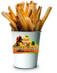 Rasta Burger French Fries (small/child size) by MrAngryDog