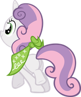 Sweetie Belle Doesn't Have a Sister by krazy3