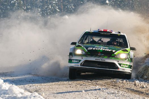 WRC Rally Sweden 2010 _2_ by schwepes