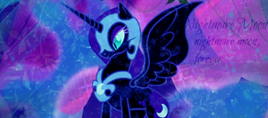 Nightmare Moon by DixieRarity