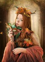 Autumn Queen by FrozenStarRo