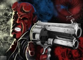 Hellboy II by GraphixRob
