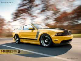 Ford Mustang Boss by GoodieDesign