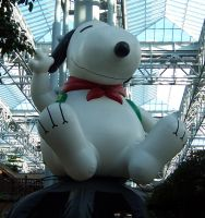big balloon snoopy MOA by JillyFoo