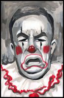 Bill O'Reilly as a Clown by GANTart