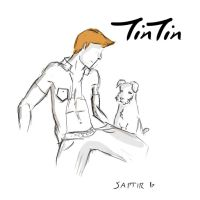 Tin Tin Sketch - More Anatomy by QEEKE