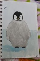 Fat Baby Penguin by LifeOfTheAverage