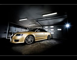 audi a4 cabrio by gtimages
