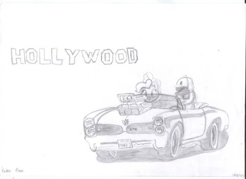 me and pinkypie to hollywood by theo46