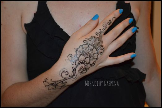 Jagua flower by Gaspina