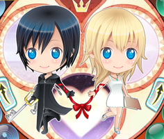 Namine and Xion by oxOXNamineMayXOxo