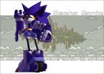 Mecha Sonic by stucat