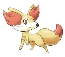 Fennekin by HarryFJ96