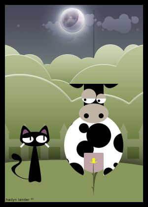http://th01.deviantart.com/fs6/300W/i/2005/018/8/4/The_cat_and_the_cow_by_raven8t8.jpg