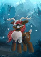 Viking Caribou by SuperRobotRainbowPig
