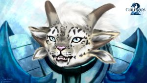 Charr Guardian by Sunkanimy