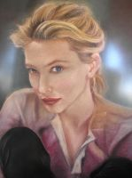 Cate blanchett by inuevan