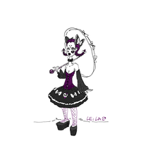 Special Sissy: Goth by leila-stoat