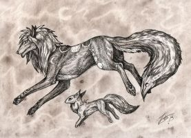 Among the stars by Rakshemau