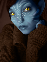 Me as a Na'Vi by songe-creux