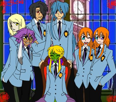 Ouran High School Host Project by ValkyrieProject