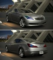 Infiniti Coupe Concept '06 by GT6-Garage