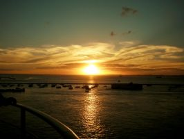 Salvador Sunset 2 by AncesTTraL