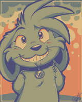smiley mat by hamzie