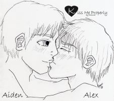 Aiden and Alex from KMP by KohakuCho